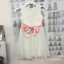 Customized for Bridesmaid Dresses Flower Girls/Princess girls /white dress /child wedding dress export to French Southern Territories Factory