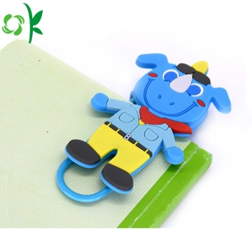 Customize Animal Shape Silicone Bookmark