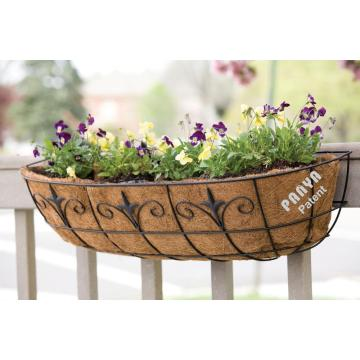 Classic Finial Window & Deck Planter Window Trough