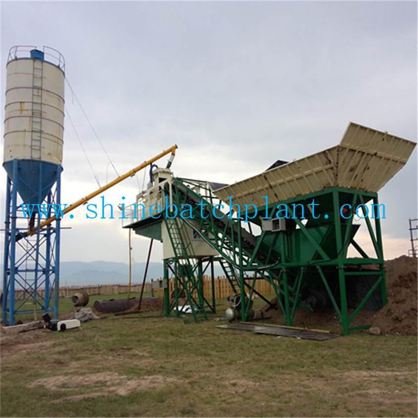 50 Ready Concrete Batching Plant