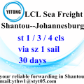 LCL Logistic Services from Shantou to Johannesburg