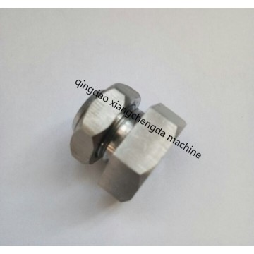Bulkhead BSP Parallel Thread With Nut Fitting Connector
