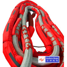 China Gold Supplier for Offer Spm Nylon Rope,Single Point Mooring Rope,Offshore Spm Rope From China Manufacturer Single Point Nylon Double Braided Rope export to Equatorial Guinea Importers