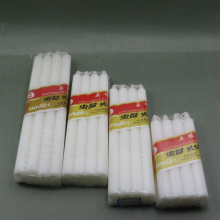 Cellophane Pack White Candle for West Africa Market