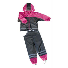 Hot sale good quality for PU Rain Jacket Children PU Waterproof Rain Suit export to Costa Rica Importers