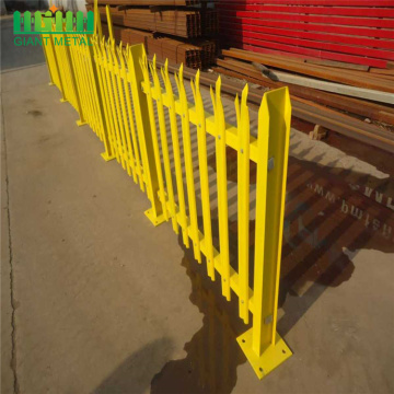 High quality factory for  wrought iron fence aluminum palisade steel picket fence supply to Nicaragua Manufacturer