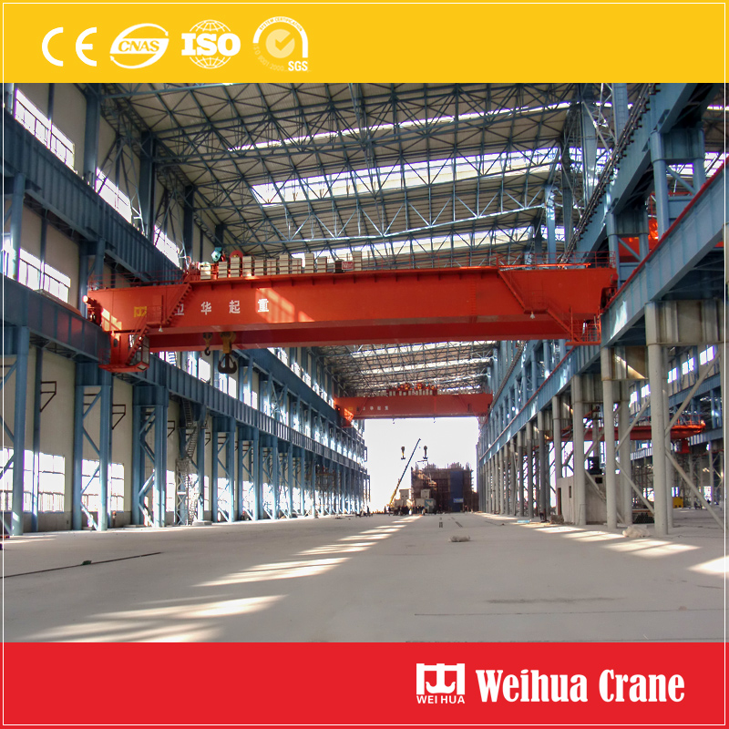 600t Overhead Crane With Hooks
