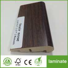 Laminate mouldings stair nose