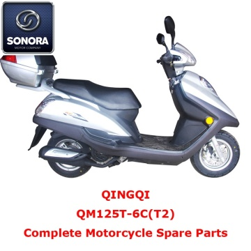 Qingqi QM125T-6C(T2) Complete Scooter Spare Part