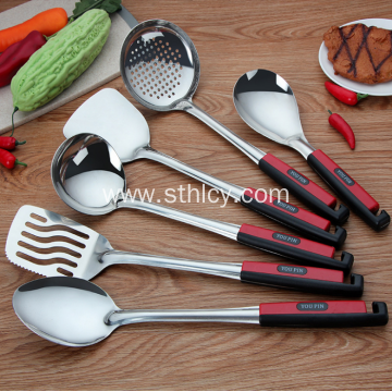 Stainless steel kitchenware set of 6 pieces