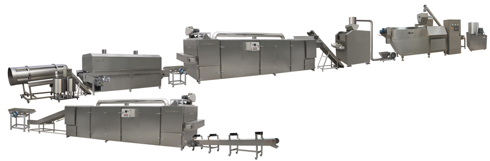Corn Flakes Extruding Line