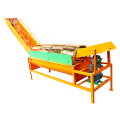 sweet potato industrial washing machine with conveyor