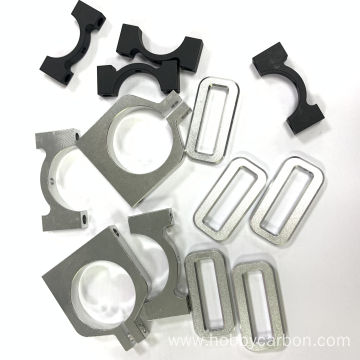 OEM nga katumpakan nga aluminum Pipe Clamp Tube Clamp
