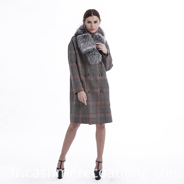 Pure Cashmere Coat Womens