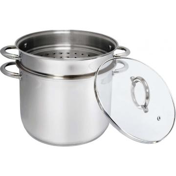 3pcs stainless steel pasta pot