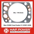 Man D2886 Head Gasket 51.03901.0298