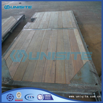 Customized hopper steel panel