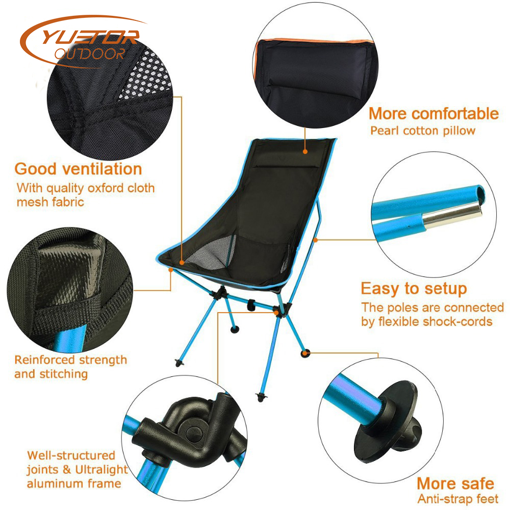Best Camp Fold Up Travel Chair 1