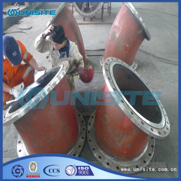 Steel pressed pipes bends fitting