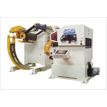 3 ing 1 Servo Feeder Straightener Cum Decoiler