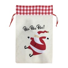 "Christmas sack with "" Ho Ho Ho """