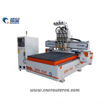 CNC router 4 spindles ATC machine 1325