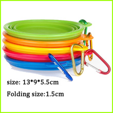 Factory selling for Personalized Pet Bowls BPA Free Travel Bowl Folding Silicone Dog Bowls supply to Latvia Exporter