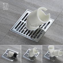 Good Quality for Full Brass Floor Drain HIDEEP Shower Strainer washing machine floor drain supply to Italy Exporter