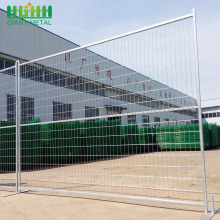Construction Event Residential Galvanized Temporary Fence