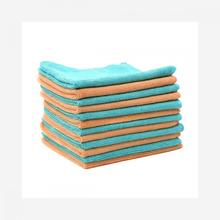 40x40cm blue fast drying car cleaning cloth
