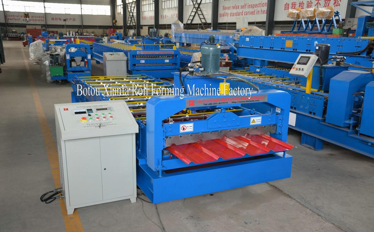 housing roof roll forming machine