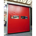 Zipper-ûntwerp Self Healing Fast Roll Up Door