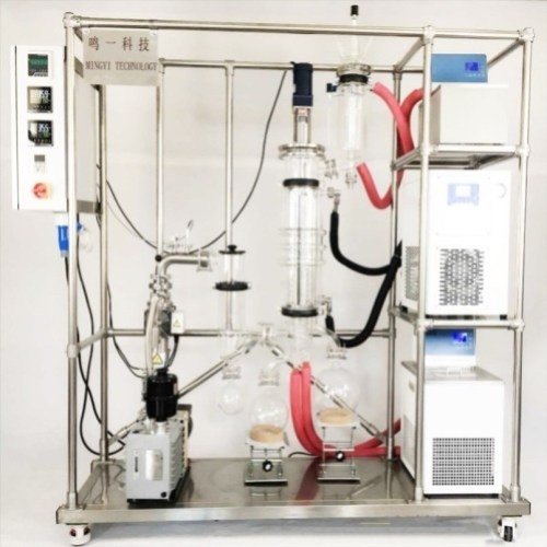 Cheap oil extraction molecular distillate system