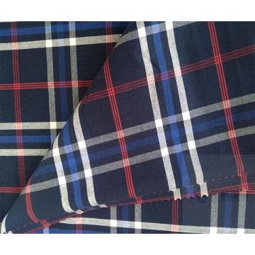 Checked Fabric Pattern Soft 100% Cotton Textile