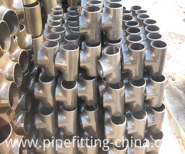 DIN Steel Tee-elbow-Carbon Steel Pipe Fittings - Tee Steel - Steel elbow - pipe fittings - fittings