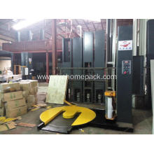 M type pallet wrapping film machine