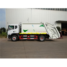 2500 Gallons 4x2 Compressed Trash Trucks