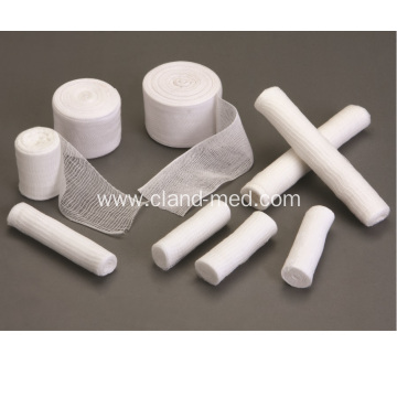 Medical 100% Cotton Cloth Selvage Gauze bandage Roll