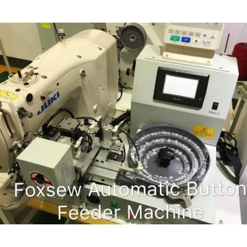 Automatic Button Attaching Sewing Machine