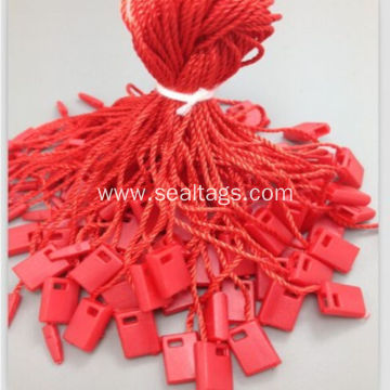 20CM red small locking string tag