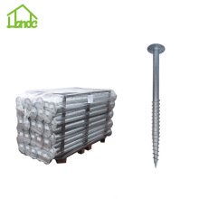 Wholesale Price for Ground Screw with Flange Different Sizes Carbon Steel Ground Screw Piles supply to Canada Manufacturer