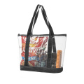 Custom make PVC Beach Bag for Women
