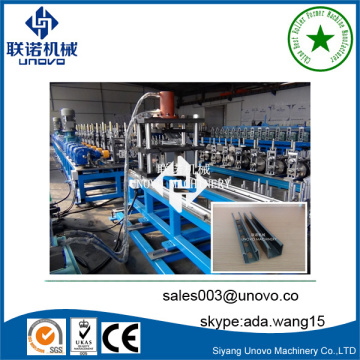 Unovo metal C unistrut channel roll forming machine