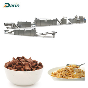 300kg/hr Cereal Corn Flakes Manufacturing Machine