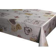 China Cheap price for City Street Series Printed Pvc Tablecloths PVC printed tablecloth with tnt backing supply to France Supplier