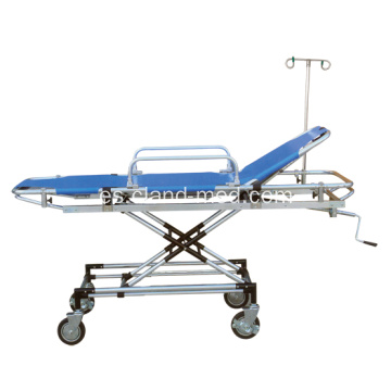 Cabezal ajustable de hospital Aluminim Rescue Bed