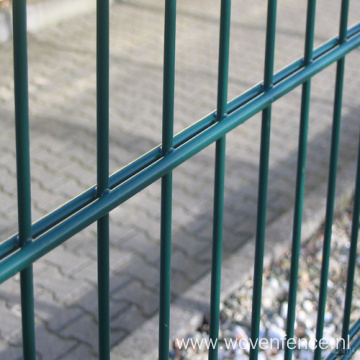 PVC Coated Prestige Double Horizontal Wire Fence