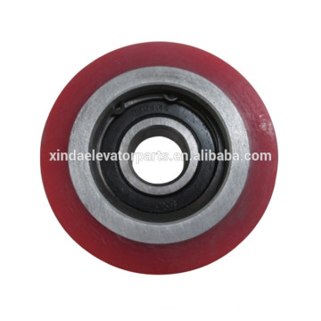 Step wheel 80x28 bearing 6204 for escalator spare part