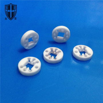 deburring YSZ zirconia ceramic electronic milling components