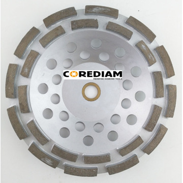 Ordinary Discount Best price for Double Row Abrasive Cup Wheel 180mm Double Row Grinding Cup Wheel supply to Ethiopia Manufacturer